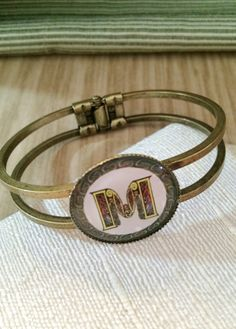 Celtic Irish Inspired Letter M Monogram Image on 7 by SweetieBeads