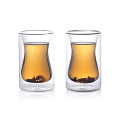 Eparé 6 oz Double-Wall Turkish Tea Cup (Set of 2)