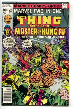 Marvel Two-In-One 29 1977 VF NM Thing Shang Chi Master Of Kung Fu Hydra