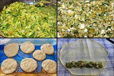 Börek to nadziewany placek wykonany Turkish Recipes, Finger Foods, Vegan Recipes, Vegan Food, Stepping Stones, Food And Drink, Wood, Outdoor Decor, Crafts