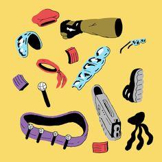 Major Lazer Live Content - Benjy Brooke animation & illustration