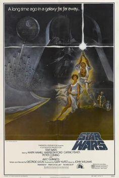 """Original-Poster für """"Star Wars"""" (1977)"""