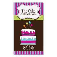 Cake Designer Business Cards