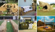 Bales Of Hay Projects to Jazz Up Your Fall Time