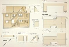Craft project: Making a dollhouse is much like building a conventional house – it takes time and patience. While there are a lot of pieces to this challenging project, they are not overly complicated to cut and assemble. Canadian Woodworking, Woodworking Plans, Woodworking Projects, Woodworking Chisels, Youtube Woodworking, Woodworking Machinery, Woodworking Classes, Woodworking Videos, Barbie Furniture