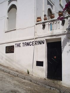 The Tangerinn is a bar in Tangier, Morocco, a place of nostalgia for fans of beat generation or beatnik poets. The bar is adjoined to the Hotel El Muniria where author William S. Burroughs wrote his famous novel Naked Lunch in room #9. This bar is one of the last reminders of the Interzone days.