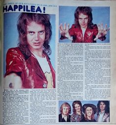 Jackie No495, June 30th 1973 Slade Band, British Rock, Number One, Cover, 30th, Legends, Movie Posters, June, Articles