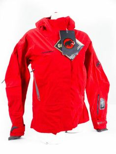 NEW Mammut Comfort Jacket - Women's SMALL - Fire