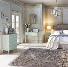 Filling your room with gorgeous duck egg furniture, layering in soft lace and quaint accessories will create a bedroom fit for a queen Duck Egg Blue Bedroom, Blue Bedroom Decor, White Bedroom, Master Bedroom, Queen Bedroom, Bedroom Ideas, Bedroom Inspiration, Ivory Bedroom Furniture, Furniture Vintage