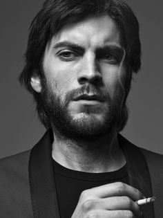 Wes Bentley from Ghost Rider and The Hunger Games Moustaches, Vanity Fair, Gq, Gorgeous Men, Beautiful People, Celebrity Portraits, Good Looking Men, American Horror Story, Looks Cool