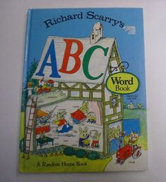 The book is clean and bright with light wear. Contains wonderful full page color illustrations. No writing inside. Richard Scarry, Random House, Nice, Words, Illustration, Ebay, Art, Art Background, Kunst