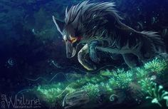 This magic moss by Whiluna on DeviantArt