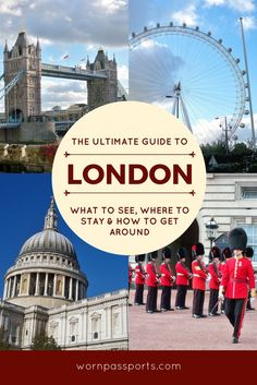 Travel guide to visit London, England: Sample itinerary, advice, and recommendations from real travelers. 5 Day in London itinerary including London Eye, Tower of London, West End, Buckingham Palace, St Paul's Cathedral, Beatles Walking Tour, Notting Hill & Wimbledon. Guide to best hotels & transportation tips.   wornpassports.com
