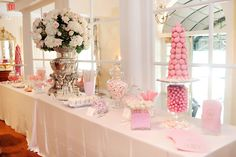 Happy Friday, all! Check out fashionista-fairytales today for some macaron details from our wedding.The candy table had macaron towers. Macarons for our favors {seen in Blair's post} were made by ...