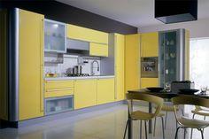 l shaped kitchen design ideas kitchen floor design ideas kitchen backsplash glass tile design ideas #Kitchen