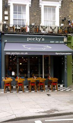 Porky's Camden. in London.