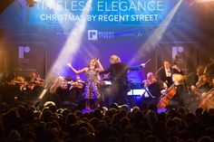 Soprano Laura Wright's incredible performance captivated #RegentStreet at the #Christmas Lights switch on event.