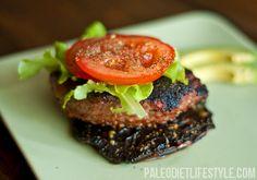 paleo Portobello burgers