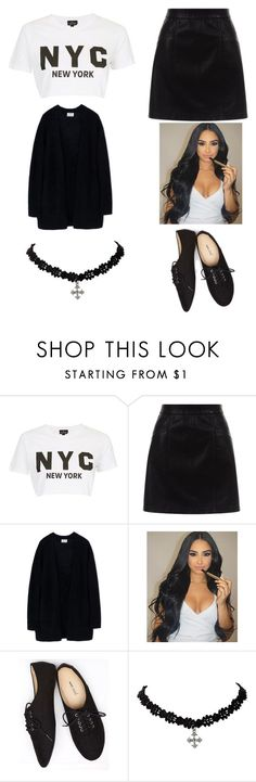 """N I N J A"" by weirdsassypinas ❤ liked on Polyvore featuring Topshop, New Look, Acne Studios and Wet Seal"