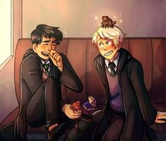 Read from the story Harry Potter \drarry talks/ by (Słowacka) with reads. Rose: Ok, obiecała. Albus Severus Potter, Harry Potter Scorpius, Scorpius And Albus, La Saga Harry Potter, Harry Draco, Harry Potter Ships, Harry Potter Anime, Harry Potter Fan Art, Harry Potter Universal
