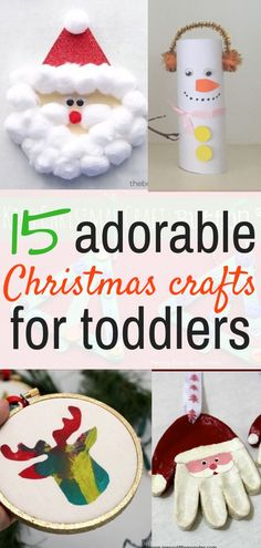 15 Christmas crafts for toddlers