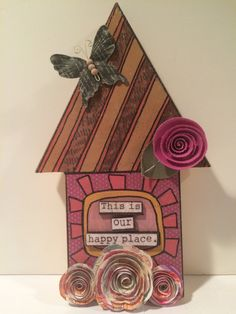 decorative home decor decorative wood house this is by Bedotted