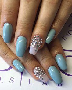 #nails #nailsart #białystok #swarovski