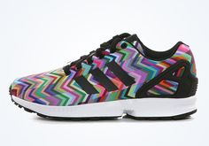 size 40 b7bda 1812b adidas Originals ZX Flux Chevron Prism 1 Adidas Zx Flux Multicolor, Adidas  Originals Zx Flux