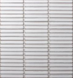 Splashback - Kit Kat tiles in off white laid vertically (not horizontal like shown in this image) Kitchen Feature Wall, Feature Tiles, Mosaic Tiles, Wall Tiles, Mosaics, Kitchen Splashback Tiles, Backsplash, White Finger, Small Showers