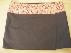 Falda reversible - cintura ajustable