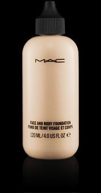 MAC Face and Body foundation can be used for light to full coverage.  It makes skin look glowing and flawless.  Pefect for those who don't want to spend lot's of time getting ready in the morning.  Put this on to even out skin tone and throw on some bronzer and, bam, you're ready to take on the world!