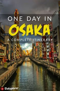 Only got one day in Osaka? Kick-start your trip with this complete itinerary for 24 hours in Osaka! Includes suggestions for what to do, what to eat and where to stay. Osaka Japan, Kobe Japan, Japan Destinations, Japan Travel Guide, Asia Travel, Travel Packing, Travel Box, Travel Guides, Laos