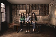 1883 introduces The Staves, three sisters from Watford with a sense of humour that proves almost as infectious as their sound.  First encountering the trio at their HMV Next Big Thing slot, sibling confessional banter spliced magical trickling harmonies and pitch-perfect acapella, as the glowing sisterhood divulged their whiskey and iced bun antics from a snowy video shoot the previous day.