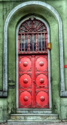 Stunning door in Istanbul, Turkey