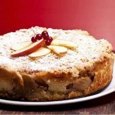 Austrian Cuisine - Desserts - Closeup of cheesecake with sour apples. by eZeePics Studio, via Shutterstock Passover Recipes, Apple Cake Recipes, Jewish Recipes, Cheesecake Recipes, Dessert Recipes, Desserts, Ricotta Cheesecake, Food Cakes, Desert Recipes