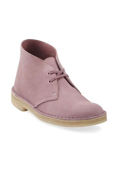 {Clarks Original Chukka Boot} pretty in pink!