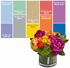 Life in Bloom: 2014 Pantone Color Inspirations