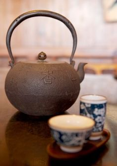 Cha is Chinese tea, but different from your English tea.
