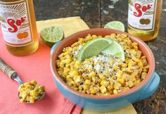 Easy Potluck Recipe: Esquites (Mexican Corn Salad) — Recipes from The Kitchn http://www.thekitchn.com/potluck-recipe-esquites-mexican-street-corn-salad-recipes-from-the-kitchn-191567