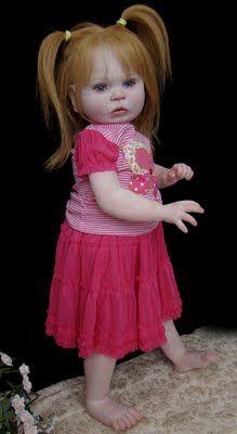 Anya's Originals Reborns and OOAK Art Dolls: ~Beatrix ~ on Donna Lee Originals