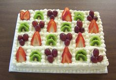 taukirknalo: fruit cake decoration