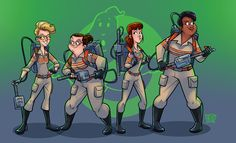 Ultimate Ghostbusters by Raton Viejo