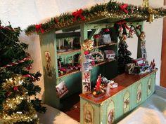 Mercado de Navidad Vintage platea con por MiniMagicDreams en Etsy
