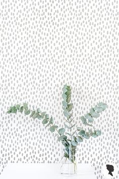 Grey Speckle Pattern Wallpaper / Grey pattern Traditional or Removable Wallpaper Room Wallpaper, Fabric Wallpaper, Pattern Wallpaper, Eclectic Wallpaper, Remove Wallpaper Glue, Self Adhesive Wallpaper, Canvas Painting Quotes, Easy Canvas Painting, Decoration Entree