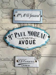 French door plaques.  ᘡղbᘡ