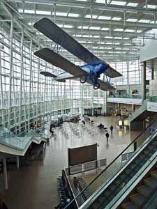Sea-Tac Airport Arrivals Hall