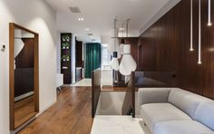 A Top Floor Apartment in Odessa by SVOYA studio