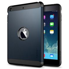 For+iPad+Mini+1/2/3+Dark+Blue+Tough+Armor+Plastic+TPU+Combination+Case