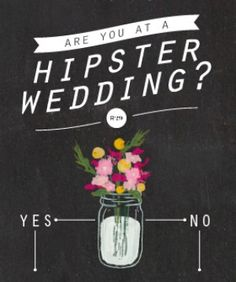 Infographic: Are You At A Hipster Wedding?