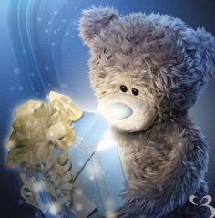 Florynda del Sol ღ☀¨✿ ¸.ღ ♥Tatty Teddy Anche gli Orsetti hanno un'anima…♥ Teddy Bear Quotes, Teddy Bear Images, Teddy Bear Pictures, Tatty Teddy, Christmas Teddy Bear, Merry Christmas, Happy Birthday Wishes For A Friend, Blue Nose Friends, Bear Wallpaper